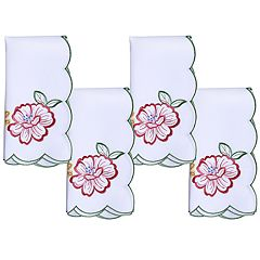 Celebrate Spring Together Spring Cut-Out Napkin 4-pack