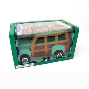 Jack Rabbit Creations Magnetic Wooden Surfer Truck Set