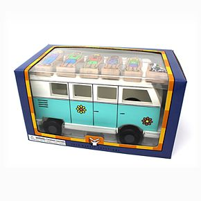 Jack Rabbit Creations Magnetic Wooden Love Bus Set
