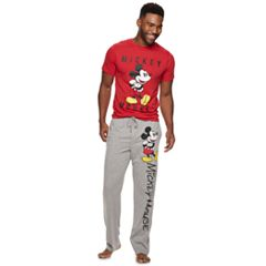 Men's Disney's Mickey Mouse 90th Anniversary Tee & Lounge Pants Set