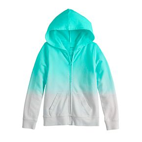 Girls 4-12 SONOMA Goods for Life? Dip-Dye French Terry Hoodie