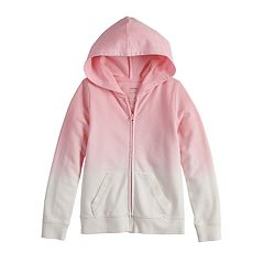 Girls 4-12 SONOMA Goods for Life™ Dip-Dye French Terry Hoodie