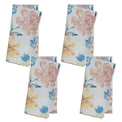Celebrate Spring Together Floral Print Napkin 4-pack