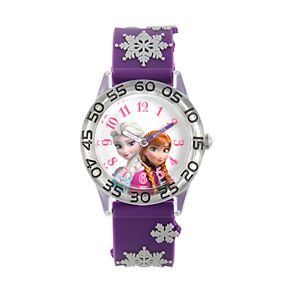 Disney's Frozen Kids' Anna & Elsa Time Teacher Watch