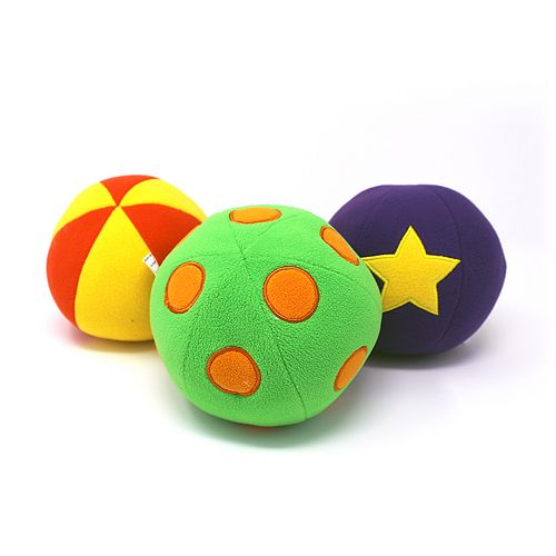 Jack Rabbit Creations 3-Pack Roly Poly Balls