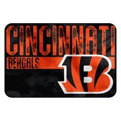 Cincinnati Bengals Memory Foam Bath Mat