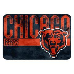 Chicago Bears Memory Foam Bath Mat