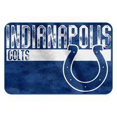 Indianapolis Colts Memory Foam Bath Mat