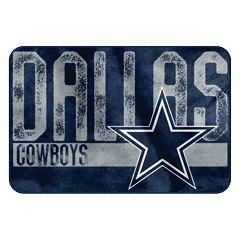 Dallas Cowboys Memory Foam Bath Mat