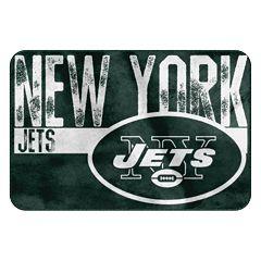 New York Jets Memory Foam Bath Mat