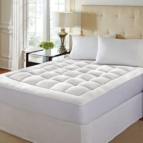 LoftWorks Pure Rest Washable Memory Foam Mattress Pad
