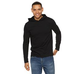 dee1a5afa58e Men s Apt. 9® Textured Pullover Hoodie. Black ...