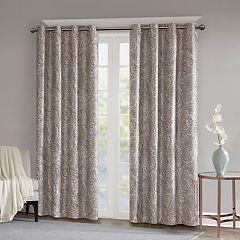 SunSmart Dahlia Paisley Printed Total Blackout Window Curtain