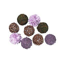 SONOMA Goods for Life™ Artificial Flower Ball Vase Filler 9-piece Set
