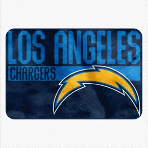 Los Angeles Chargers Memory Foam Bath Mat