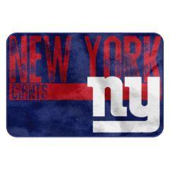 New York Giants Memory Foam Bath Mat