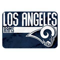 Los Angeles Rams Memory Foam Bath Mat