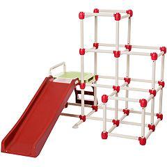 Lil' Monkey Everest Climb N Slide Gym