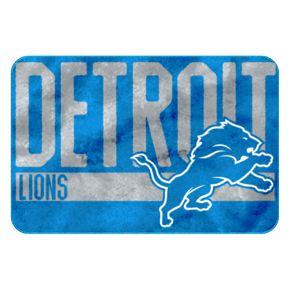 Detroit Lions Memory Foam Bath Mat