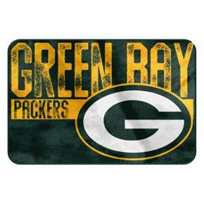 Green Bay Packers Memory Foam Bath Mat