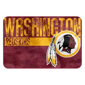 Washington Redskins Memory Foam Bath Mat