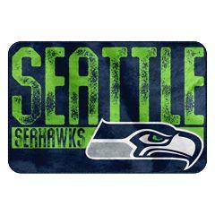 Seattle Seahawks Memory Foam Bath Mat