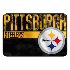 Pittsburgh Steelers Memory Foam Bath Mat