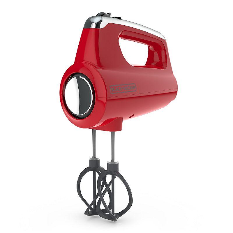 Black & Decker™ Helix Performance Premium Hand Mixer in Red