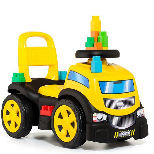 Molto Ride On Truck with Blocks