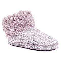 Women's MUK LUKS Tinley Bootie Slippers