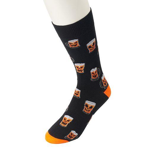 Men's Halloween Novelty Crew Socks