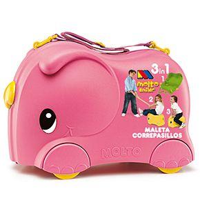 Molto Pink Smiler Basic Jumbo Suitcase