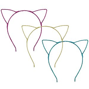 Girls 4-16 Elli by Capelli 3-pack Cat Ear Headbands