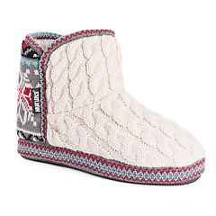 Women's MUK LUKS Leigh Bootie Slippers