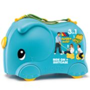 Molto Blue Smiler Basic Jumbo Suitcase