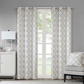 Madison Park 2-pack Jax Cotton Duck Window Curtains