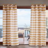 Madison Park Cabana Stripe 3M Scotchgard Outdoor Window Curtain