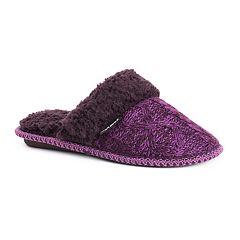 Women's MUK LUKS Payton Scuff Slippers
