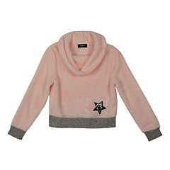Girls 7-16 IZ Amy Byer Plush Cowlneck Sweater