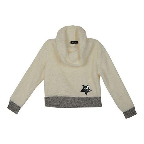 Girls 7-16 IZ Amy Byer Plush Cowlneck Sweater