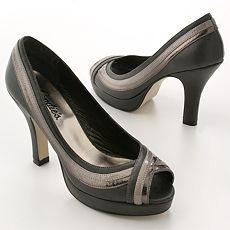 Candie's Parizz Peep-Toe Heels