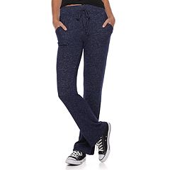 Juniors' SO® High Rise Tie Waist Dorm Pants
