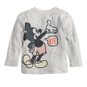 Disney's Mickey Mouse Toddler Boy Hi & Bye Front & Back Graphic Tee by Jumping Beans®