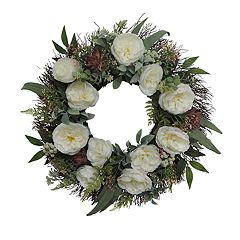 SONOMA Goods for Life™ Artificial Succulent & Flowers Wreath