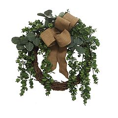 SONOMA Goods for Life™ Artificial Eucalyptus Bow Wreath