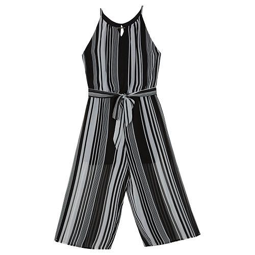 3f67708fb337b Girls 7-16 IZ Amy Byer Striped Chiffon Jumpsuit