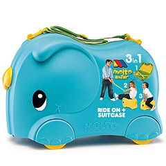 Molto Blue Smiler Deluxe Jumbo Suitcase