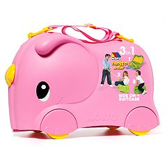 Molto Pink Smiler Deluxe Jumbo Suitcase
