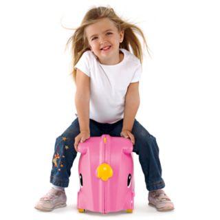 Molto Pink Smiler Deluxe Jumbo Suitcase
