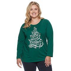 Plus Size SONOMA Goods for Life™ Holiday Crewneck Top